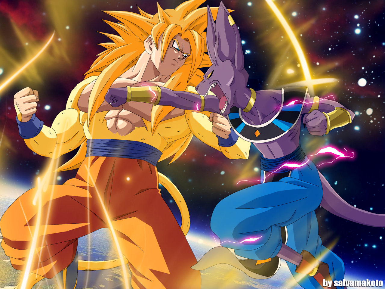 BATTLE OF GODS by salvamakoto