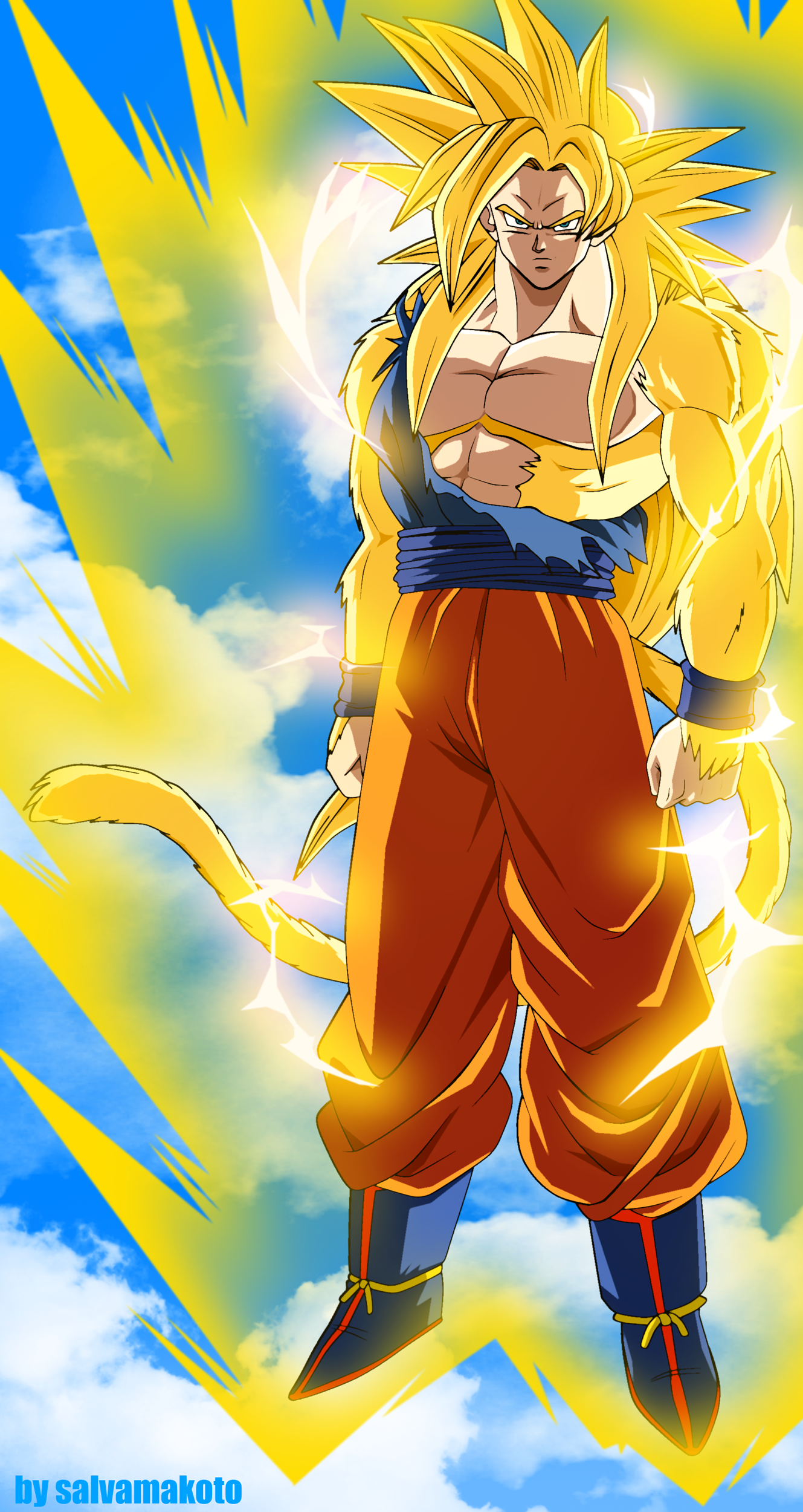 THIS is what Super Saiyan 4 should have looked like