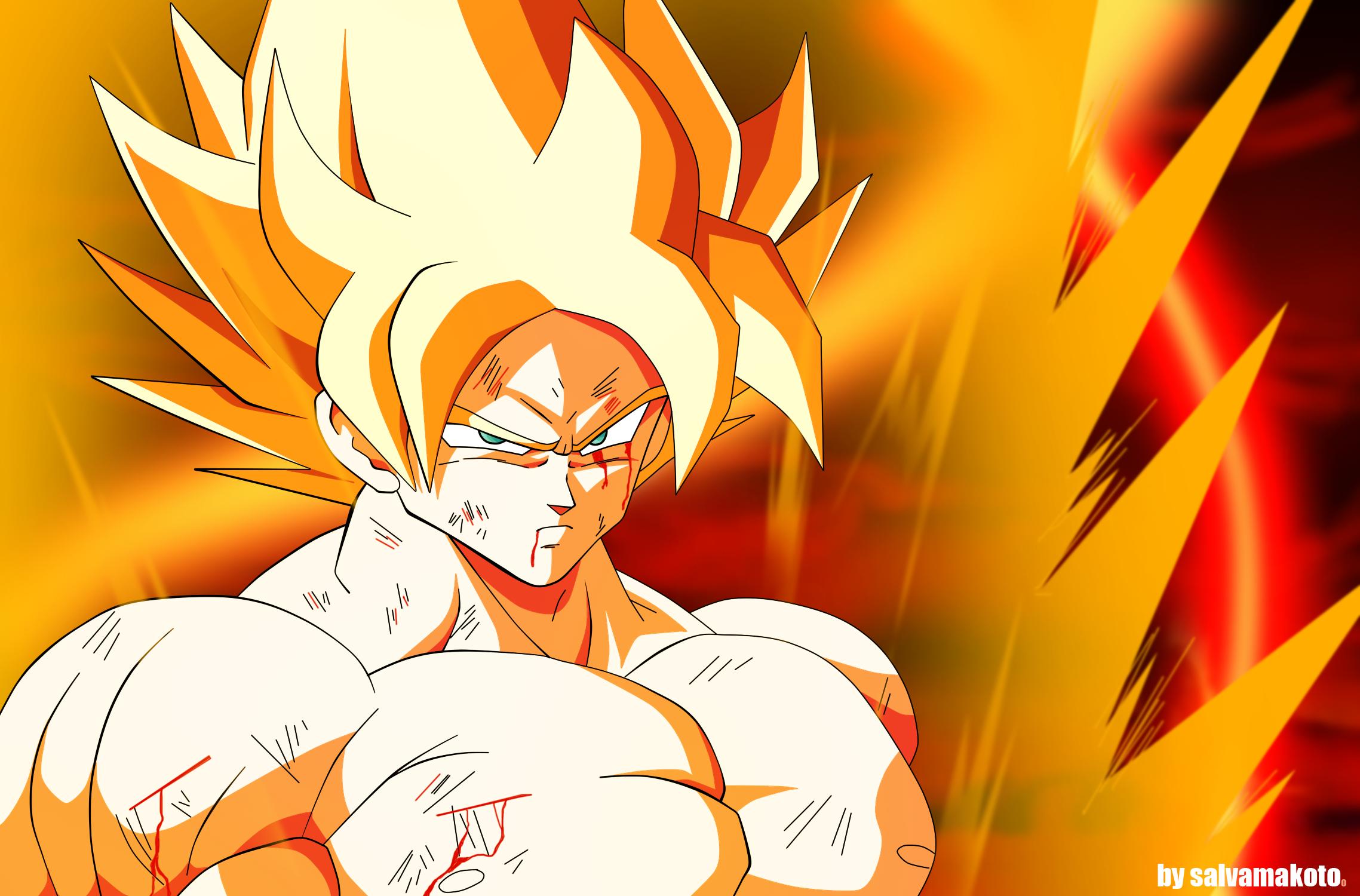 Ask vegeta breigh vegeta deviantart - Goku super sayan 5 ...