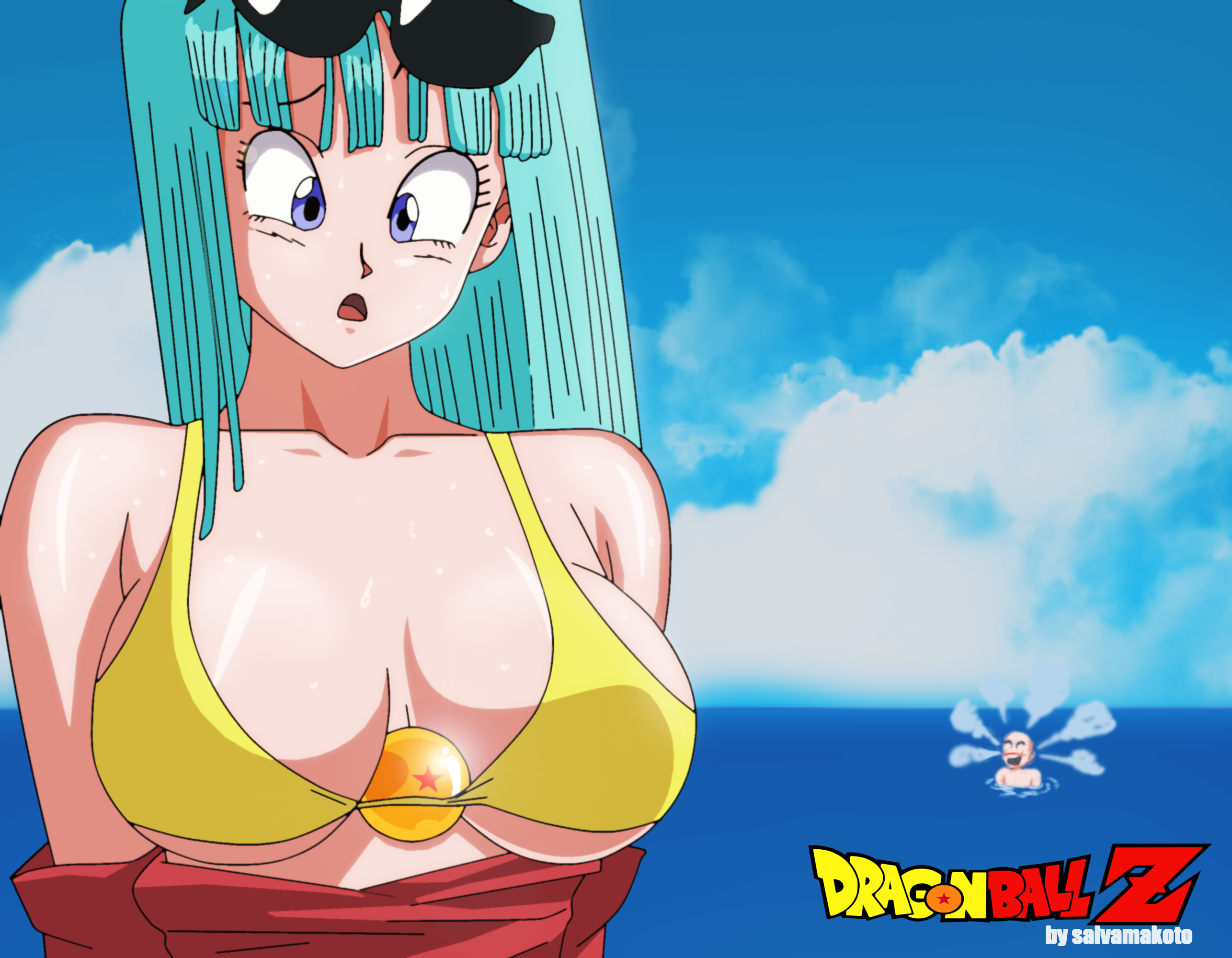 Dragon Ball Z Maron Hot