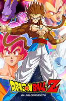 DRAGON BALL Z - GODS by salvamakoto