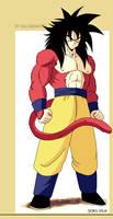 Goku ssj4 Retro Design