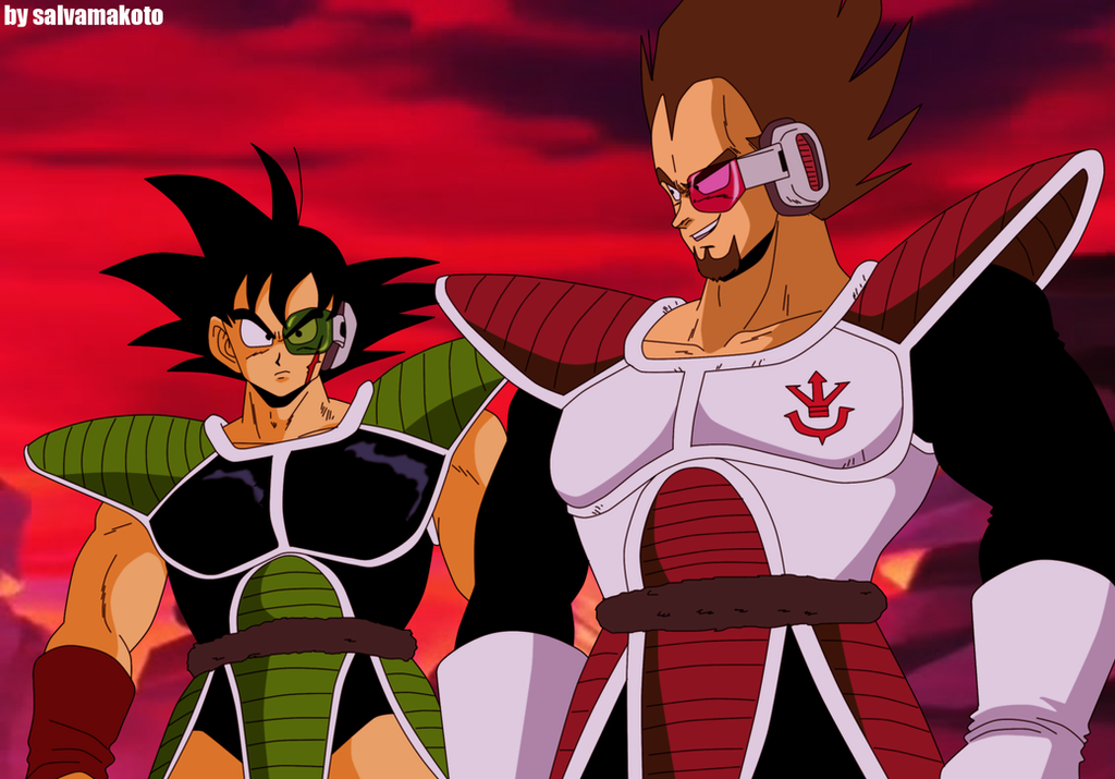 young bardock and king vegeta by salvamakoto on DeviantArt