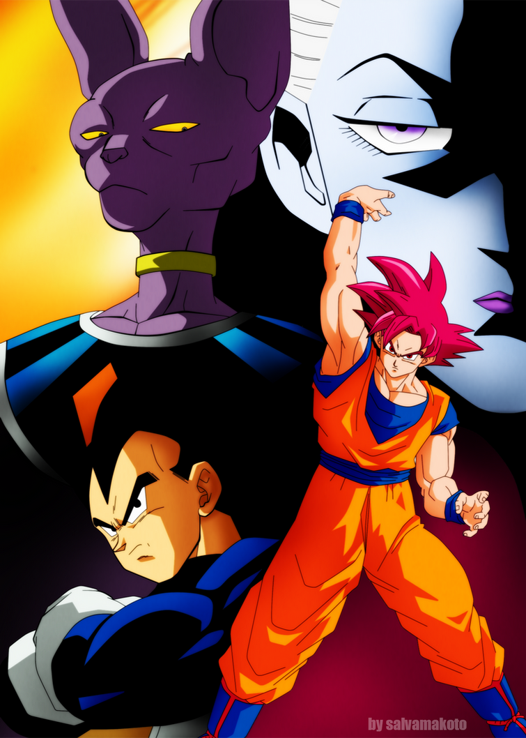 Dragon Ball SUPER by salvamakoto
