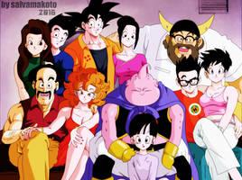 La familia de Goku by salvamakoto