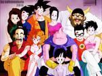 La familia de Goku