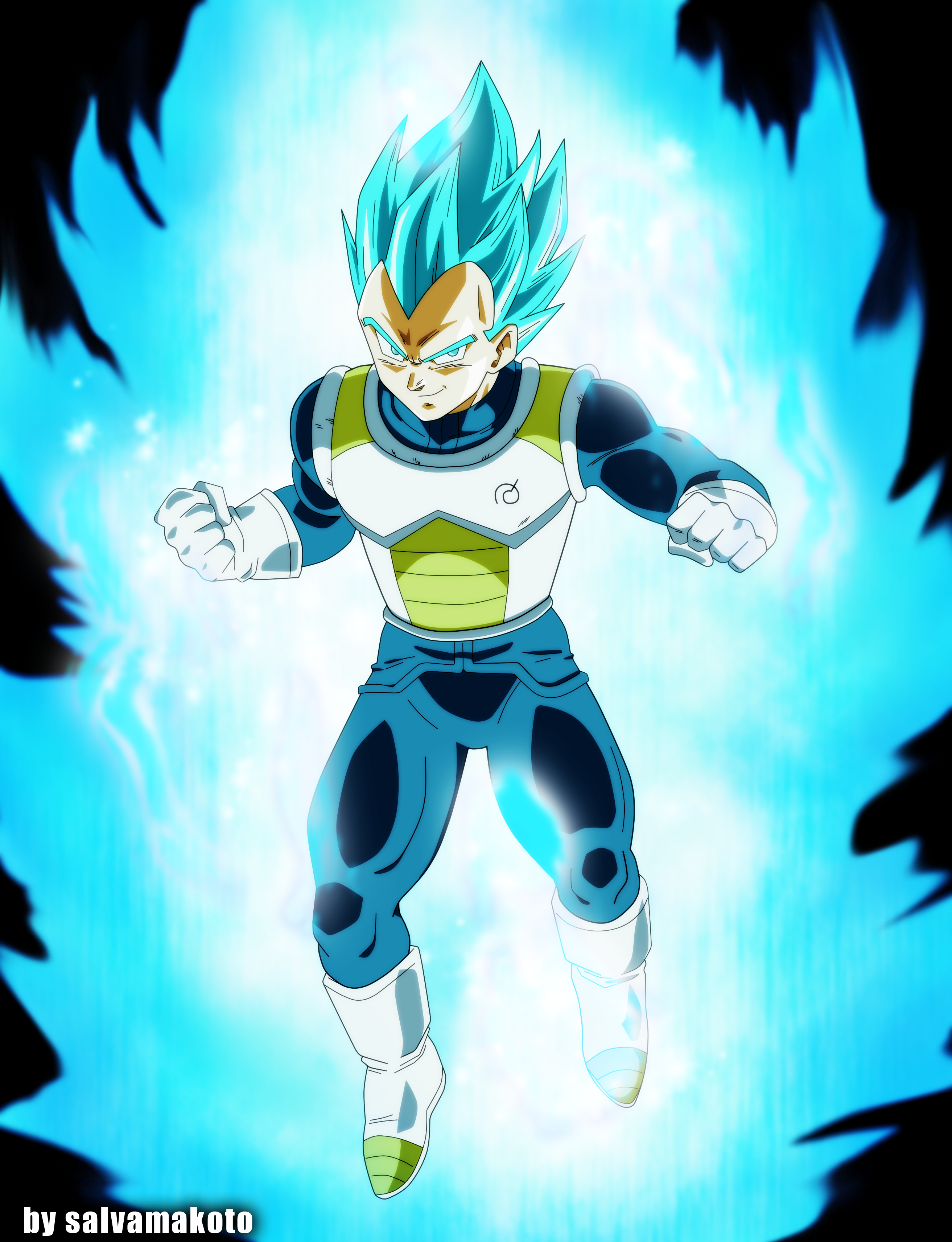 Vegeta dragonball super by salvamakoto on deviantart - Goku vs vegeta super saiyan 5 ...