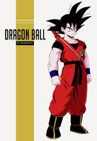 Teen Goku by salvamakoto