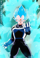 VEGETA- El super Saiyajin azul by salvamakoto
