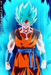 GOKU - super saiyajin azul