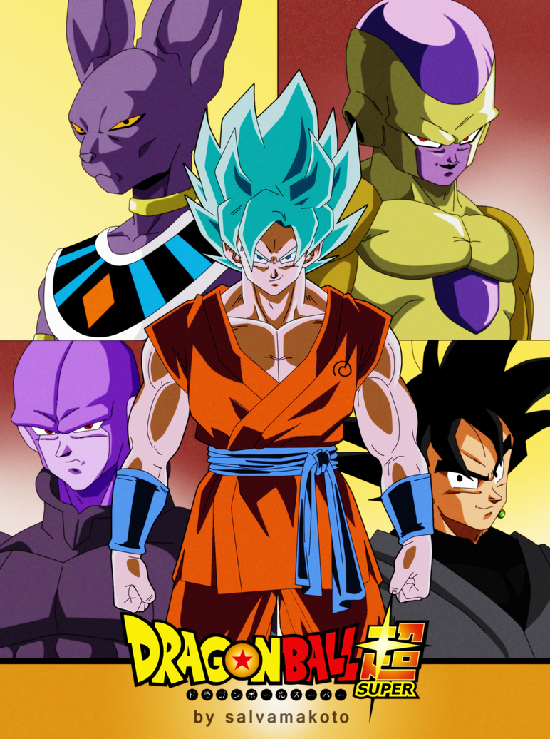 dragon ball super sagas by salvamakoto - Dragon B