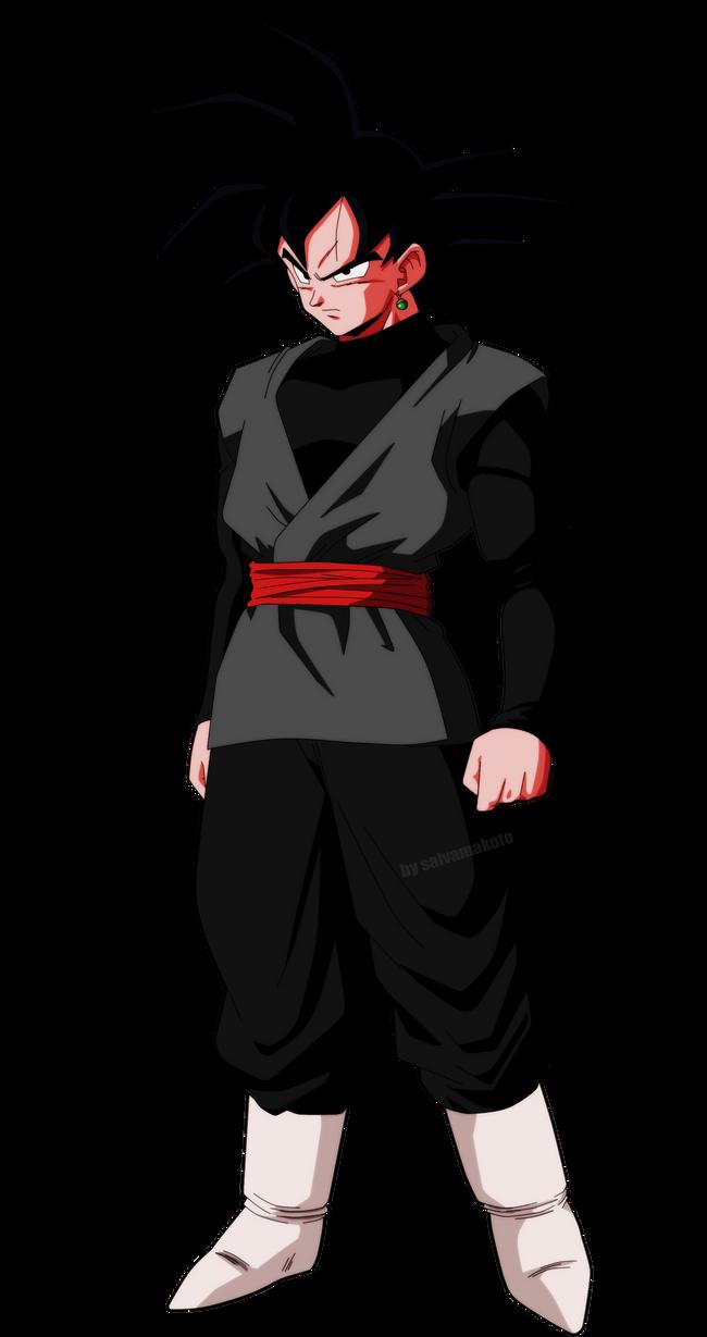Black Goku By Salvamakoto On Deviantart