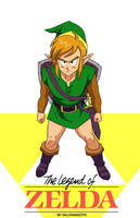 Link Legend Of Zelda by salvamakoto