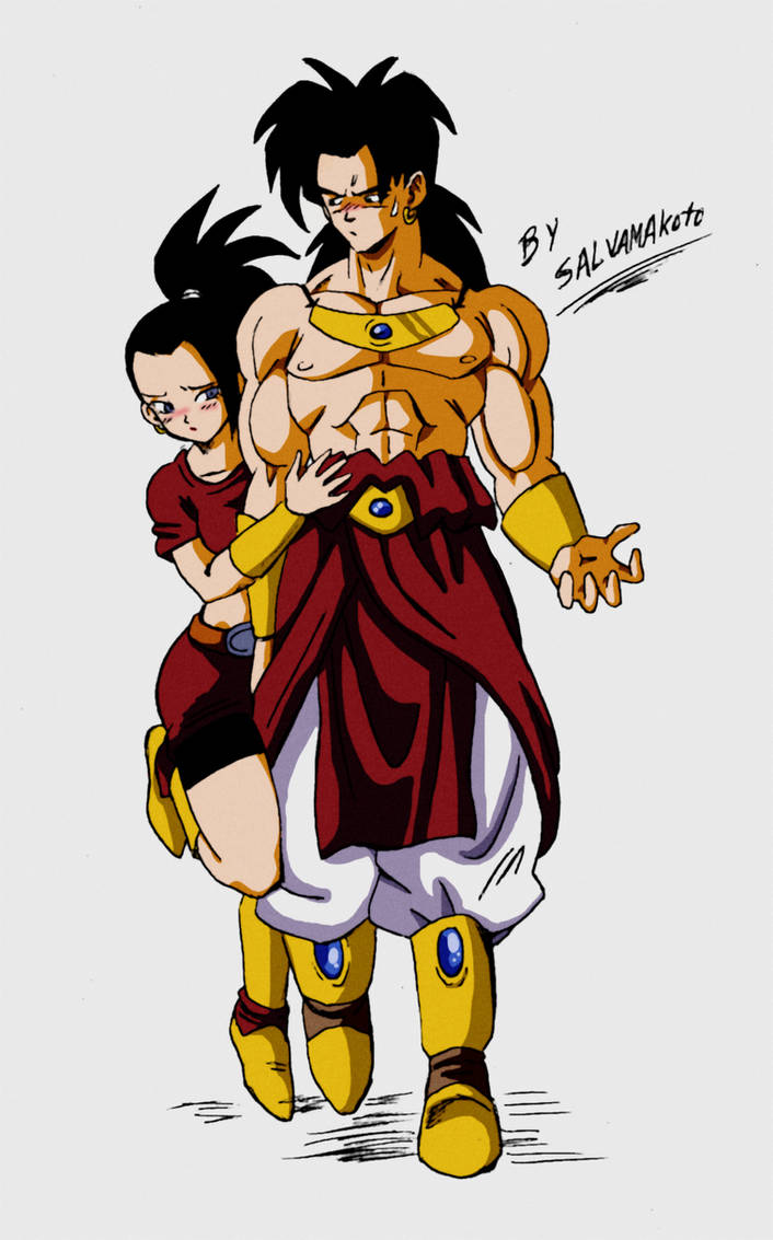 Kale And Broly By Salvamakoto On Deviantart