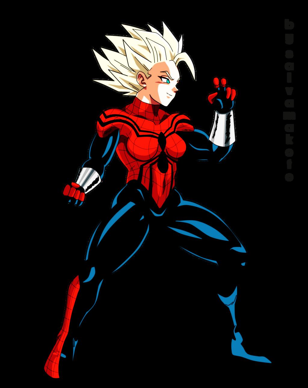 spidergirl saiyajin - commission