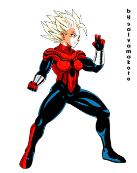 spidergirl saiyajin - commission