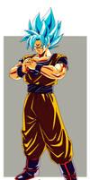 Son Goku super saiyan Blue