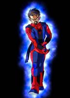 commission 32- spidersaiyan by salvamakoto