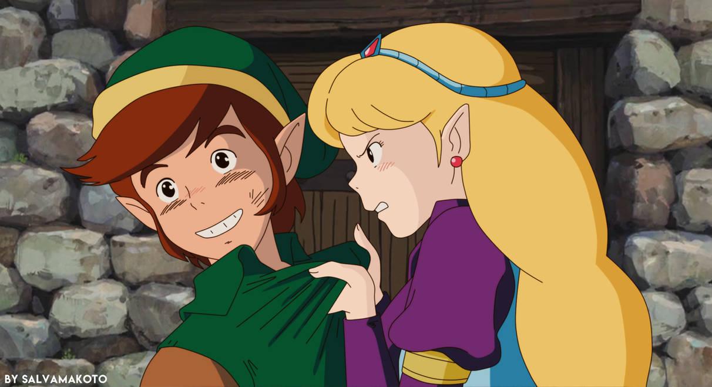 La princesa y el heroe ? by salvamakoto