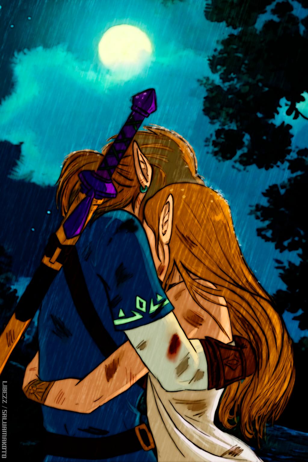 Zelda BOTW by salvamakoto