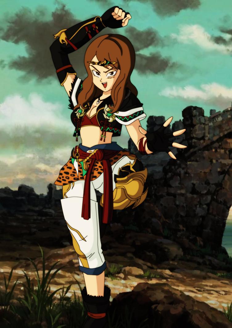 Commission 105 - warrior girl by salvamakoto