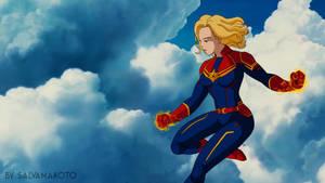 Captain Marvel by salvamakoto