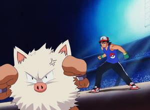Ash el maestro pokemon