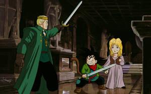 commission 223- enfrentamiento de espadas