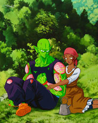 Commission 230 - Piccolo and the Florist