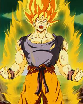 Yo soy el Super Saiyajin Goku