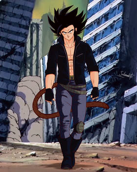 commission 232 - Hijo de Goku y Caulifla