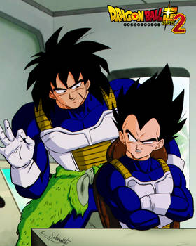 dragon ball super 2 - broly y vegeta