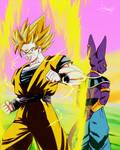 Goku Ssj2 Vs Bills