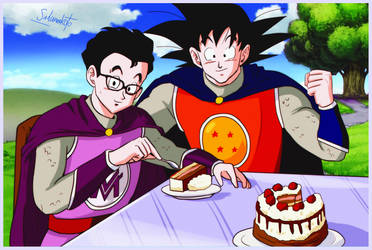 commission 241 - Masakox and Goku