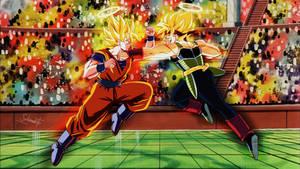 commission 247 -Bardock Vs Goku