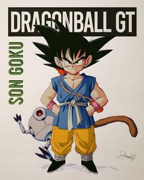 Son Goku dragonball GT