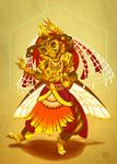 CDC - Indian Dancer - Bharatanatyam Bee