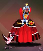 CDC - Alice In Wonderland - The Queen of Hearts by LaurenNatvigGray