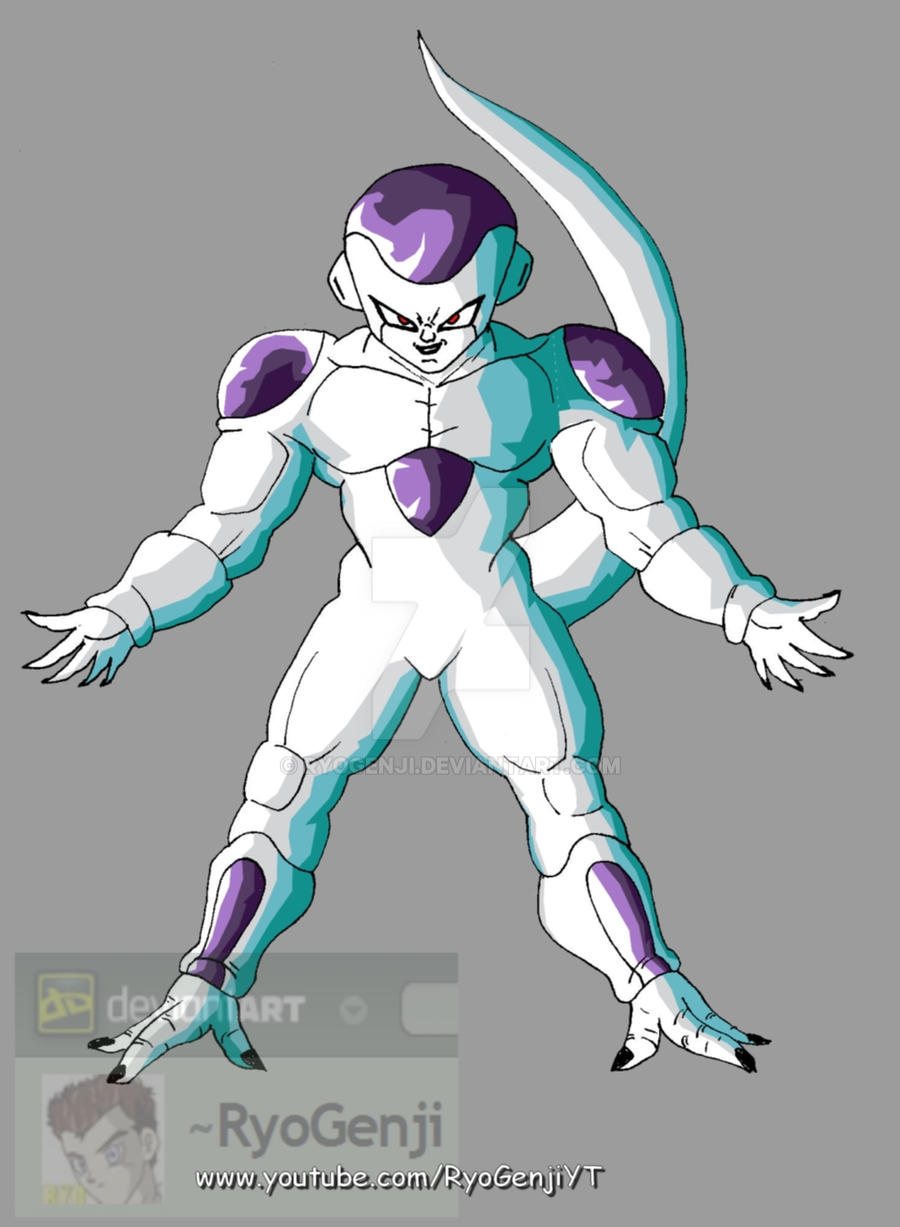 100% Full Power Frieza by RyoGenji