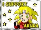 I support Aruka stamp :D by RyoGenji