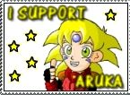 I support Aruka stamp :D by RyoGenji
