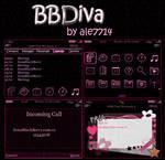 BBDiva Theme for BlackBerry