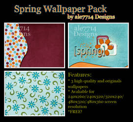 Spring Wallpaper Pack for BB by ale7714