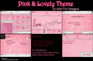 Pink and Lovely for BlackBerry