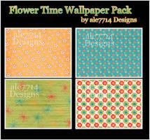 Flower Time Wallpaper Pack BB