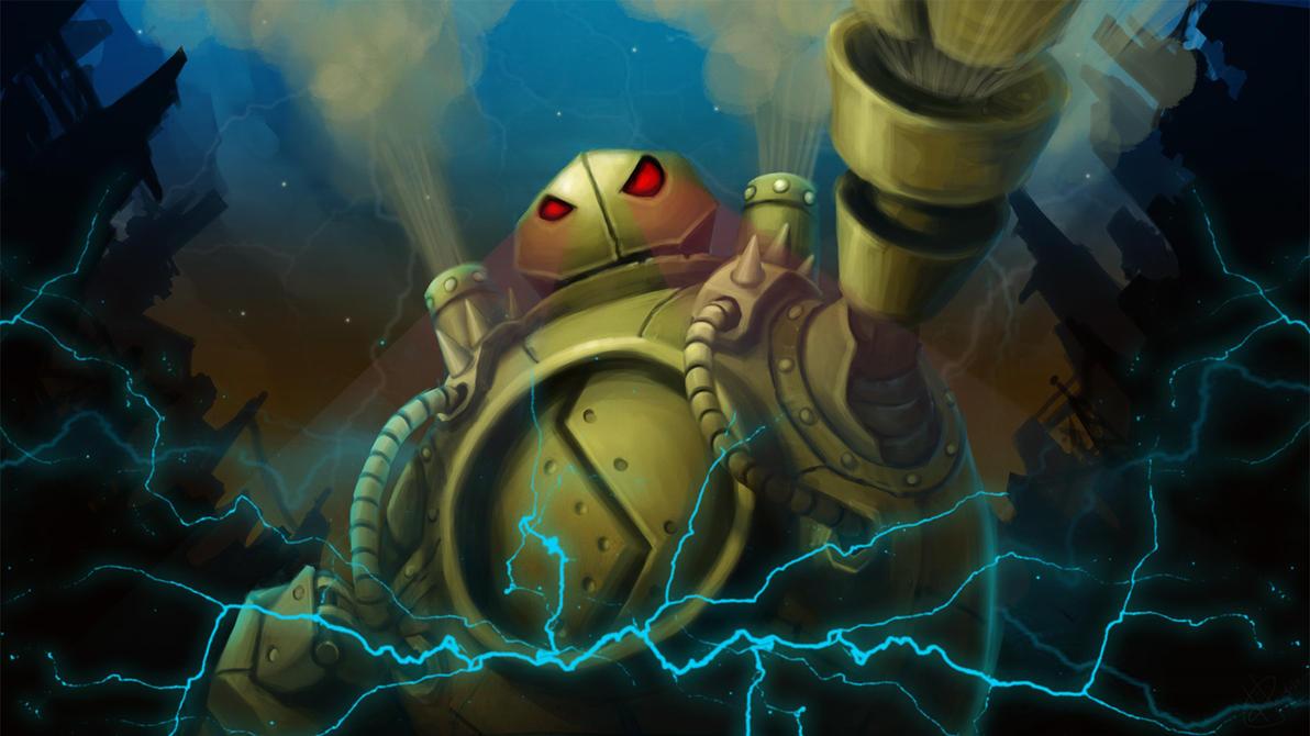 Calling all Steam Junkies! (Blitzcrank Fanart Thread)!!!