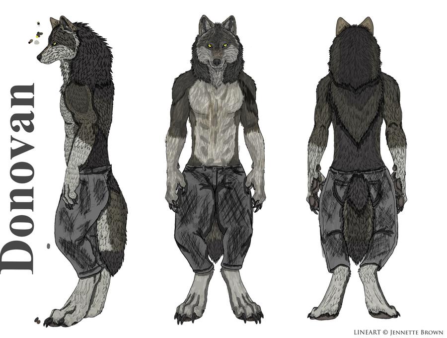 Donovan - Werewolf OC by L-Kyuubi on DeviantArt