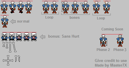 Papyrus Battle Sprite Sheet Related Keywords & Suggestions - Papyrus