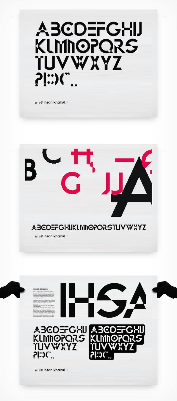 ikl - archy font by ihsanpunkrock