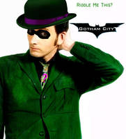 David Tennant as The Riddler by KidsleyKreations